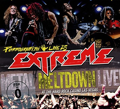 Extreme Pornograffitti Live 25 Metal Meltdown Blu Ray DVD CD