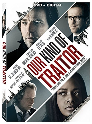 Our Kind Of Traitor Mcgregor Skarsgard Lewis Harris DVD Dc R