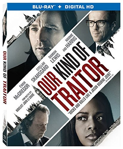 Our Kind Of Traitor Mcgregor Skarsgard Lewis Harris Blu Ray Dc R