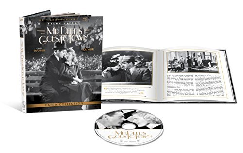 Mr. Deeds Goes To Town Cooper Arthur Blu Ray Dc Anniversary Edition