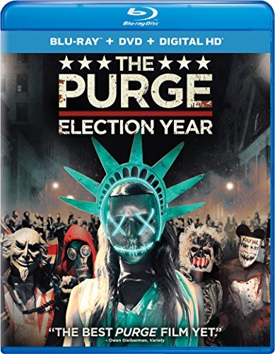 Purge Election Year Grillo Mitchell Blu Ray DVD Dc R