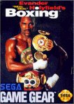 Sega Game Gear Evander Holyfield's Real Deal Boxing
