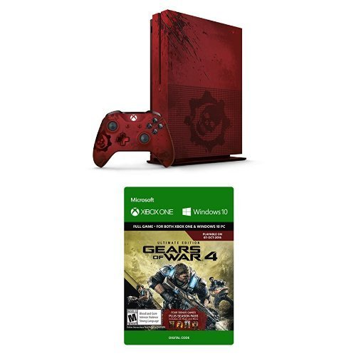 Xbox One S System S 2tb Gears Of War 4 Bundle
