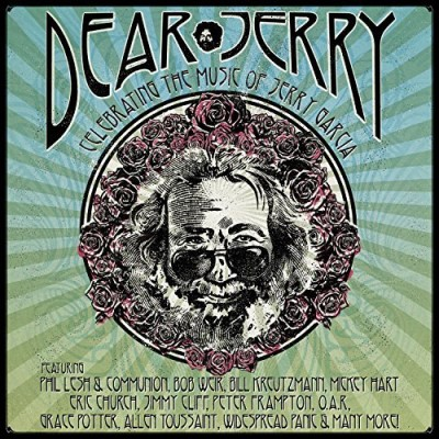 Dear Jerry Celebrating The Music Of Jerry Garcia 2 CD Blu Ray Combo