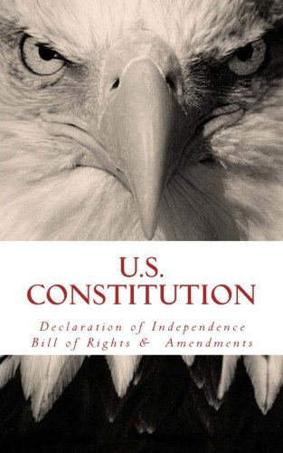 Wounded Warrior Publications Us Constitution Declaration Of Independence Bill Of Rights & Am