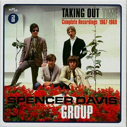 Spencer Davis Group Taking Time Out Complete Recordings 1967 1969 Import Gbr