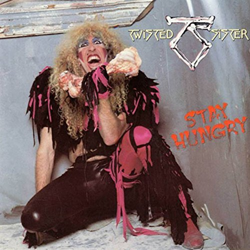 Twisted Sister Stay Hungry (black & Pink Starburst Vinyl) Rocktober 2016 Exclusive W Poster Ltd To 2500