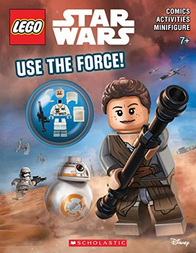 Ameet Studio Use The Force! (lego Star Wars Activity Book) [with Minifigure]