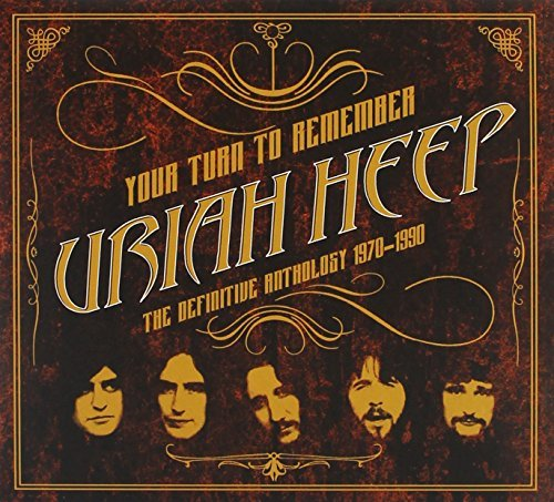 Uriah Heep Your Turn To Remember The Definitive Anthology 1970 1990 2 CD