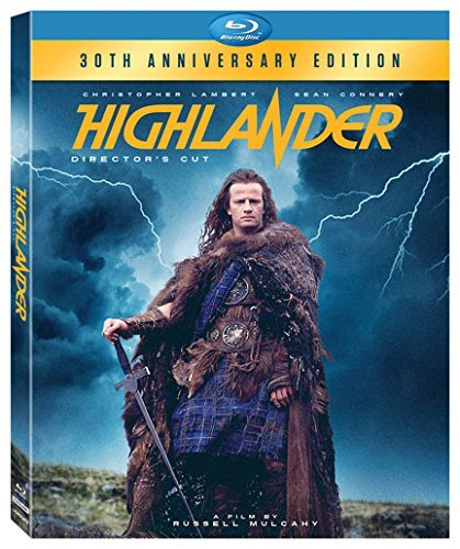 Highlander Lambert Connery Blu Ray R 30th Anniversary Edition