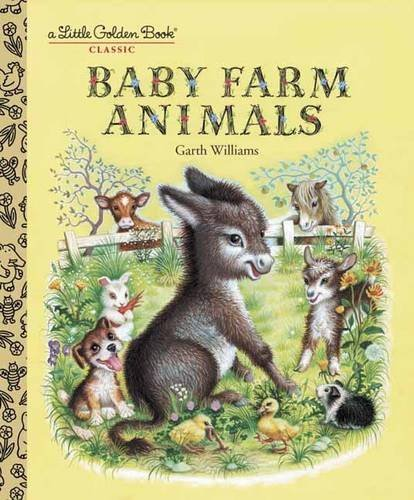 Garth Williams Baby Farm Animals A Little Golden Book Classic