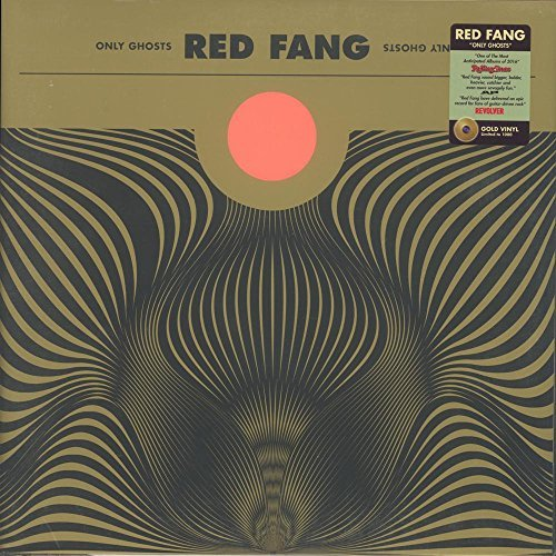 Red Fang Only Ghosts (gold Vinyl) Indie Exclusive 1000 Copies