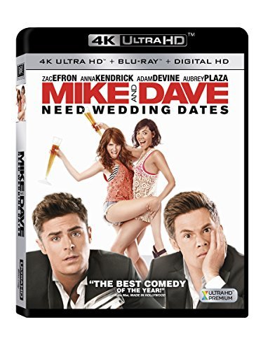 Mike & Dave Need Wedding Dates Efron Kendrick Devine Plaza 4k R