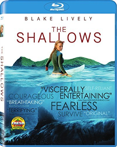 The Shallows Lively Blu Ray Pg13