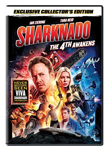 Sharknado The 4th Awakens Reid Ziering Hasselhoff DVD Nr