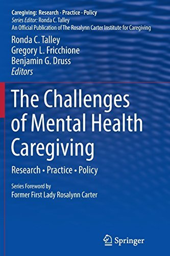 Ronda C. Talley The Challenges Of Mental Health Caregiving Research Practice Policy Softcover Repri