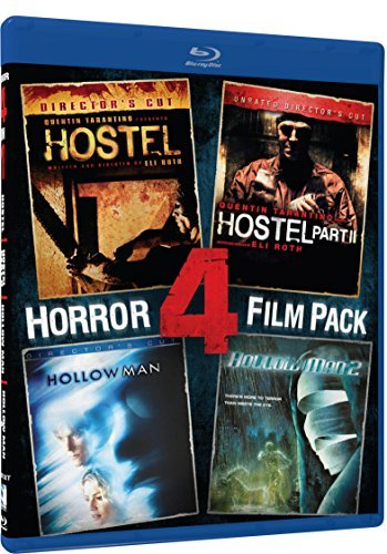 Hostel Hostel 2 Hollow Man Hollow Man 2 Horror 4 Pack Blu Ray