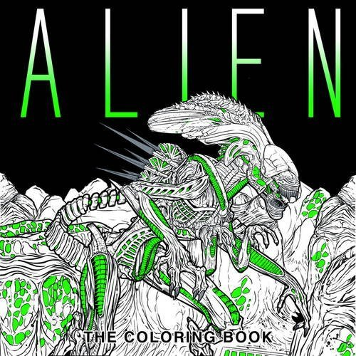 Titan Books Alien The Coloring Book