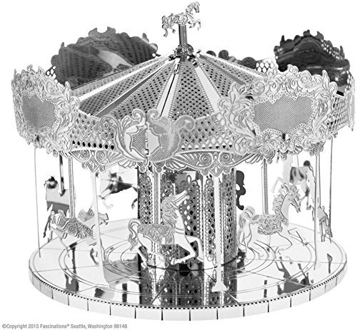 Novelty Metalearth Merry Go Round