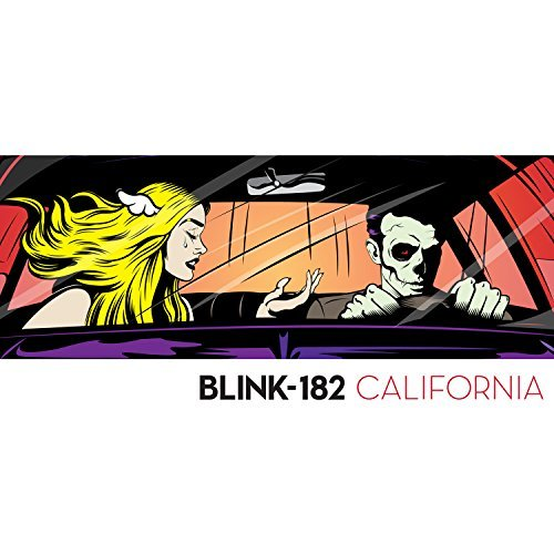 Blink 182 California (red Colored Vinyl) Explicit
