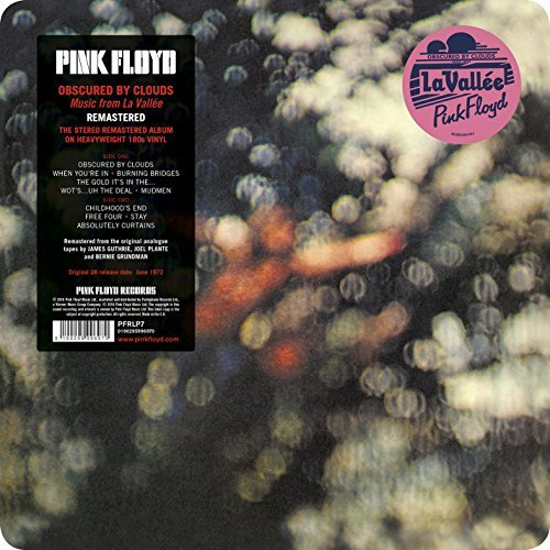 Pink Floyd Obscured By Clouds 180g Vinyl 2016 Version