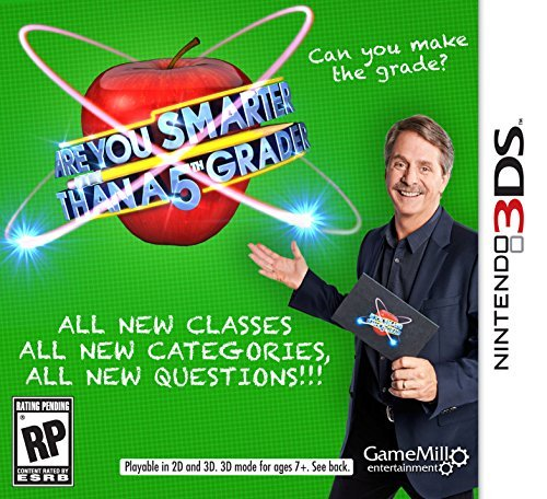 Nintendo 3ds Are You Smarter Than A 5th Grader