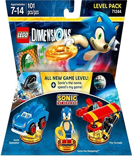 Lego Dimensions Level Pack Sonic The Hedgehog