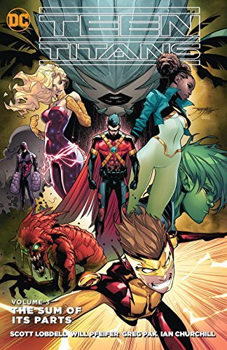 Scott Lobdell Teen Titans Vol. 3 The Sum Of It's Parts