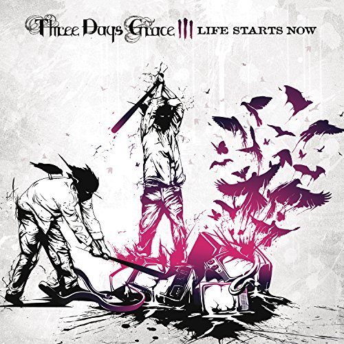 Three Days Grace Life Starts Now Import Eu