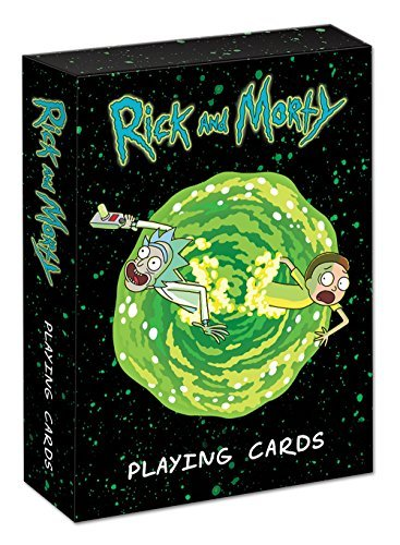 Playing Cards Rick & Morty Playing Cards