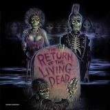 Return Of The Living Dead (indie Exclusive) Soundtrack Limited Black Red Vinyl