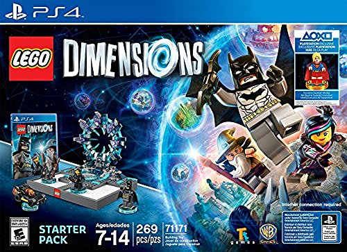 Ps4 Lego Dimensions Starter Pack W Supergirl Minifigure