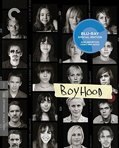Boyhood Coltrane Arquette Hawke Blu Ray R Criterion