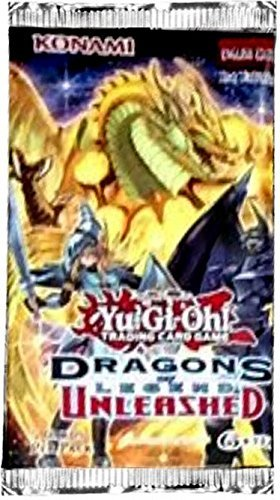 Yu Gi Oh Cards Dragons Of Legend Unleashed Booster Pack