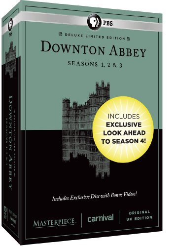 Downton Abbey Seasons 1 2 & 3 Deluxe Limited Edition