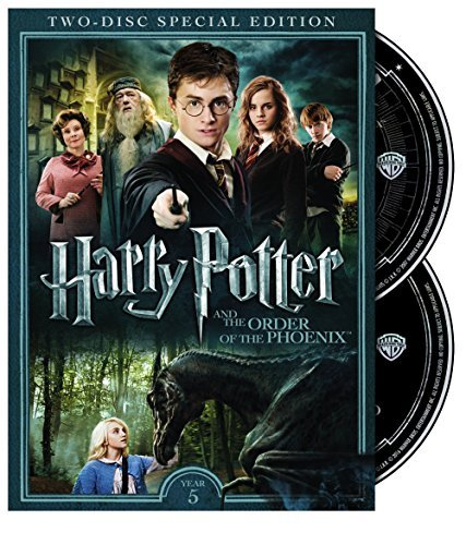 Harry Potter & The Order Of The Phoenix Radcliffe Grint Watson DVD Pg13 2 Disc Special Edition
