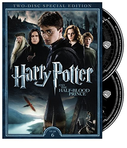 Harry Potter & The Half Blood Prince Radcliffe Grint Watson DVD Pg13 2 Disc Special Edition