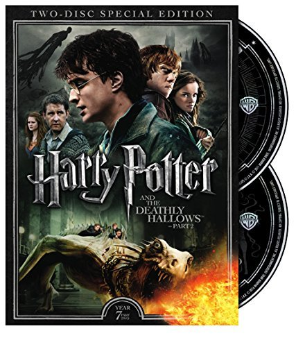 Harry Potter & The Deathly Hallows Part 2 Radcliffe Grint Watson DVD Pg13 2 Disc Special Edition