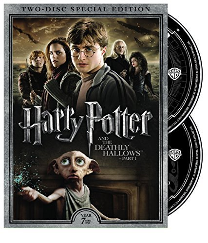 Harry Potter & The Deathly Hallows Part 1 Radcliffe Grint Watson DVD Pg13 2 Disc Special Edition