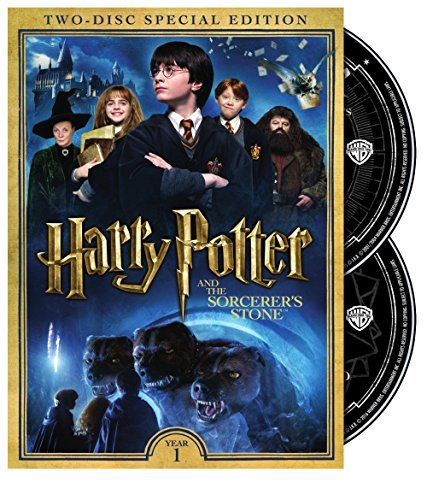 Harry Potter & The Sorcerer's Stone Radcliffe Grint Watson DVD Pg 2 Disc Special Edition