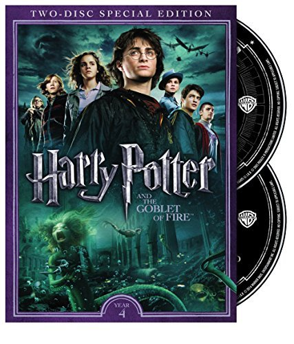 Harry Potter & The Goblet Of Fire Radcliffe Grint Watson DVD Pg13 2 Disc Special Edition