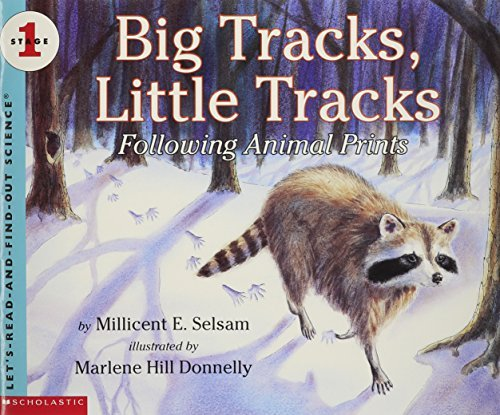 Millicent E. Selsam Big Tracks Little Tracks Following Animal Prints