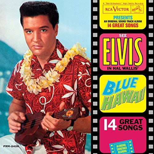 Elvis Presley Blue Hawaii (blue Vinyl) 180 Gram Audiophile Translucent Blue Vinyl Limited Anniversary Edition Gatefold Cover