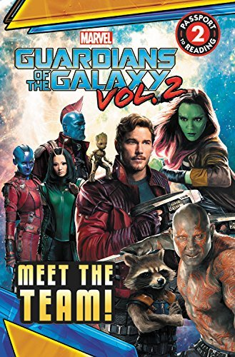 R. R. Busse Marvel's Guardians Of The Galaxy Vol. 2 Meet The Team!