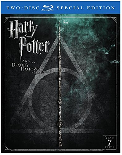 Harry Potter & The Deathly Hallows Part 2 Radcliffe Grint Watson Blu Ray Dc Pg13 2 Disc Special Edition