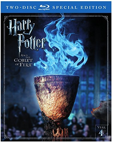 Harry Potter & The Goblet Of Fire Radcliffe Grint Watson Blu Ray Dc Pg13 2 Disc Special Edition