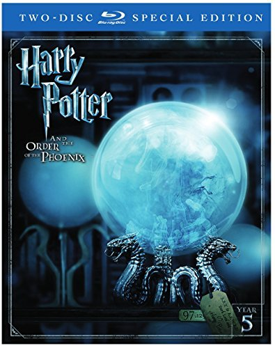 Harry Potter & The Order Of The Phoenix Radcliffe Grint Watson Blu Ray Dc Pg13 2 Disc Special Edition