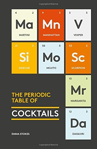 Emma Stokes The Periodic Table Of Cocktails