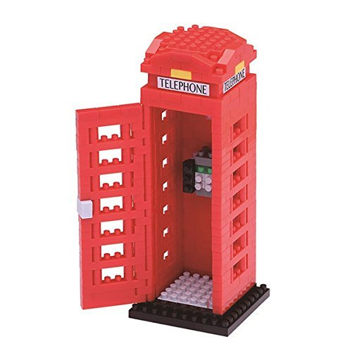 Nanoblocks Telephone Box
