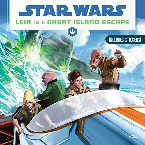 Disney Book Group Star Wars Leia And The Great Island Escape